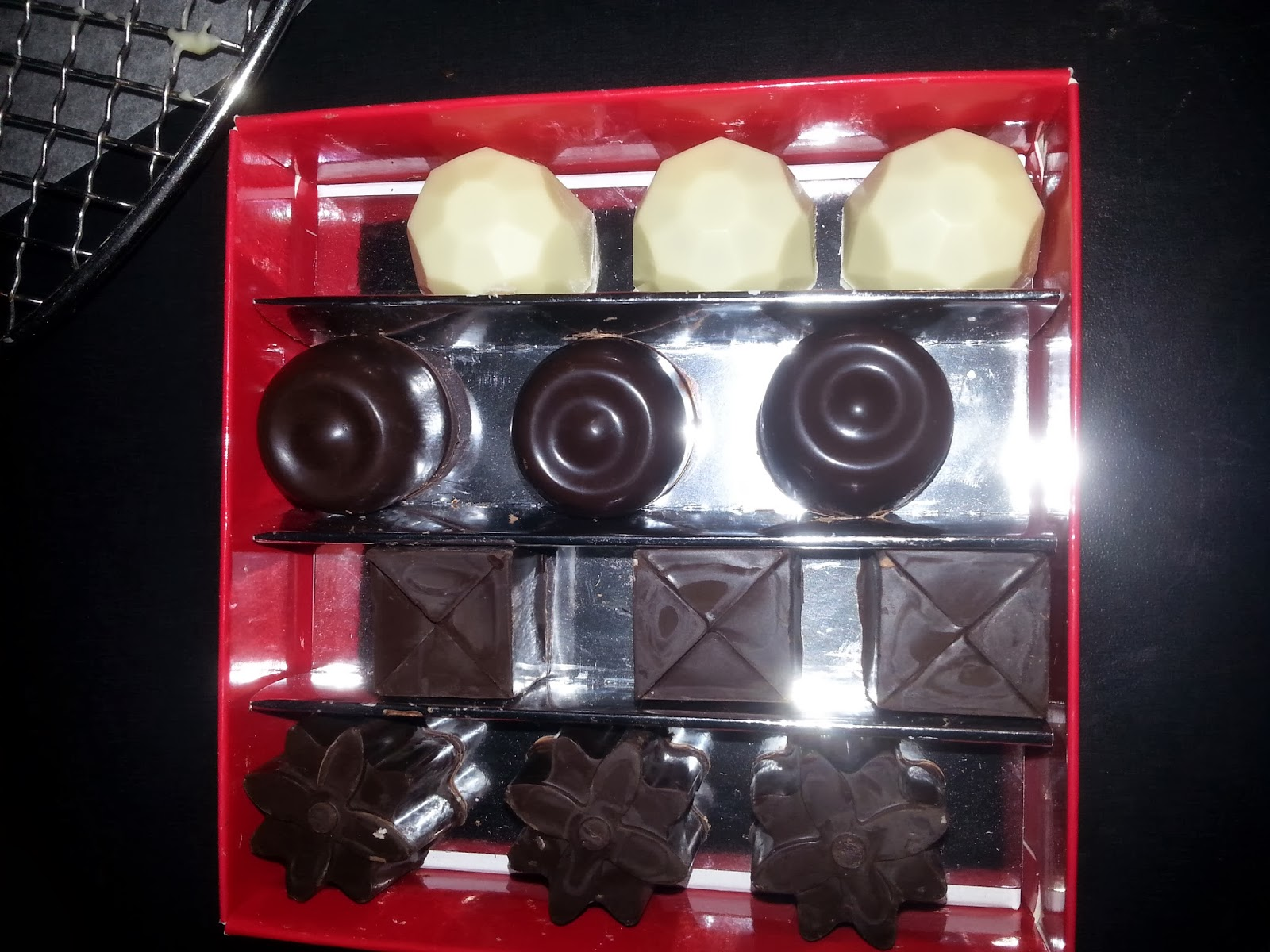 karamelliserad vit choklad